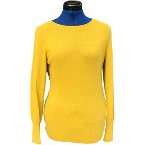 Mossimo Mustard Yellow Sweater